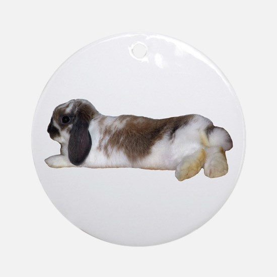 """Bunny 3"" Ornament (Round)"