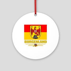 Burgenland (Flag 10) Round Ornament