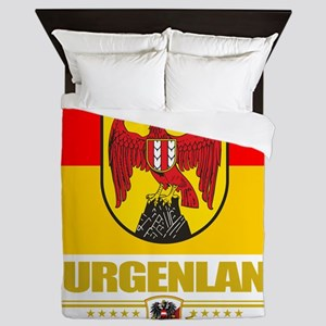 Burgenland (Flag 10) Queen Duvet