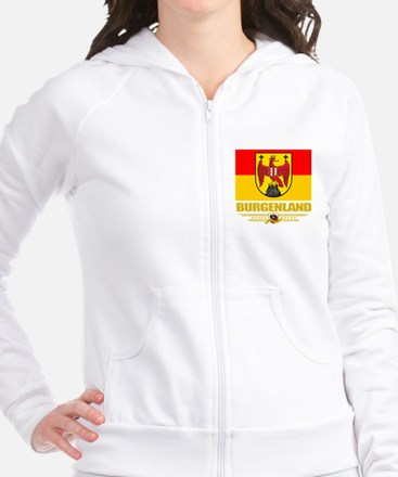 Burgenland (Flag 10) Fitted Hoodie