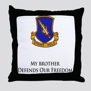 504brother Throw Pillow
