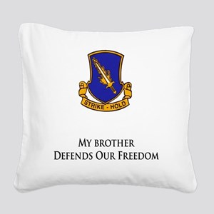 504brother Square Canvas Pillow