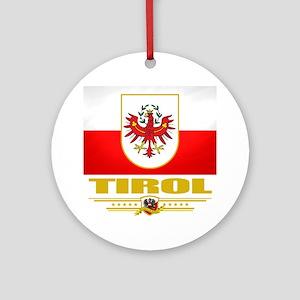 Tirol (Flag 10) Round Ornament