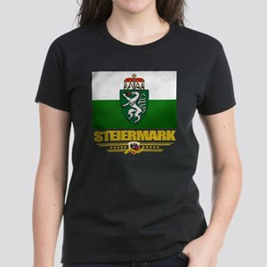 Steiermark (Flag 10) Women's Dark T-Shirt