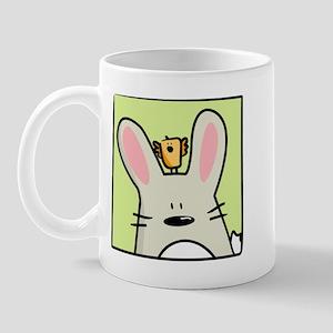 Easter bunny and chick Mug