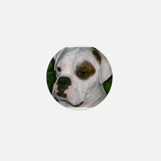 Cute Boxer lover Mini Button