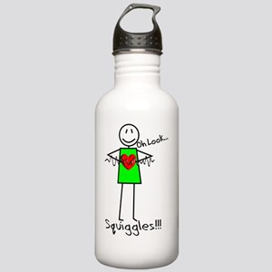 Stick Oh look Squiggle Stainless Water Bottle 1.0L