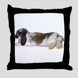 """""""Bunny 3"""" Throw Pillow"""