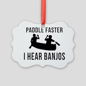 I-Hear-Banjos-Smaller Picture Ornament