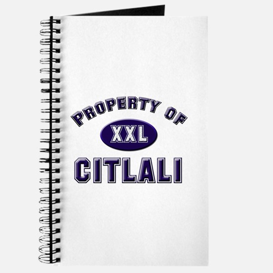 Property of citlali Journal