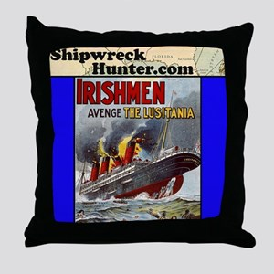 lusitania Throw Pillow