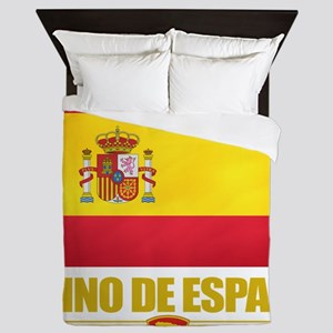 Spain (Flag 10) Queen Duvet