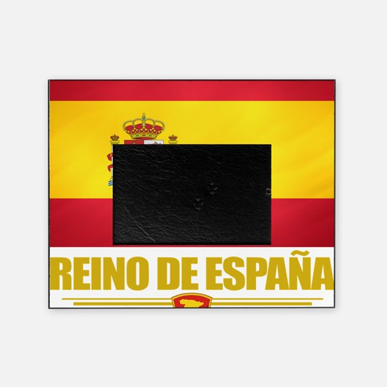 Spain (Flag 10) Picture Frame