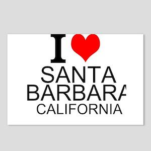 I Love Santa Barbara, California Postcards (Packag