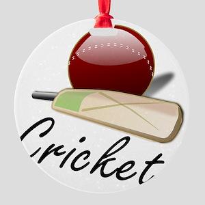 Cricket_03 Round Ornament
