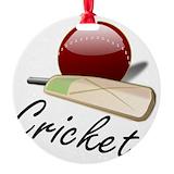 Cricket Round Ornament