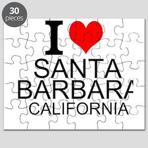 I Love Santa Barbara, California Puzzle