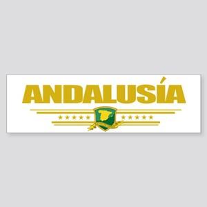 Andalusia (Flag 10) pocket Sticker (Bumper)