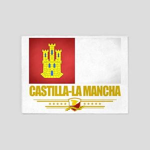 Castilla La Mancha (Flag 10) 5'x7'Area Rug