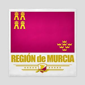 Murcia (Flag 10) Queen Duvet
