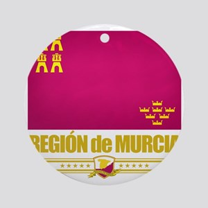 Murcia (Flag 10) Round Ornament