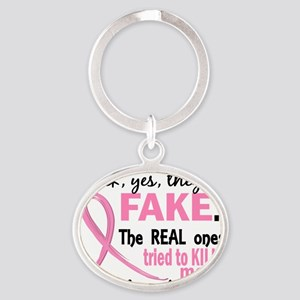 - Fake Oval Keychain