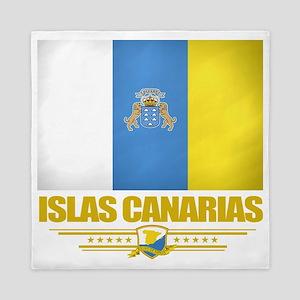 Islas Canarias (Flag 10) Queen Duvet