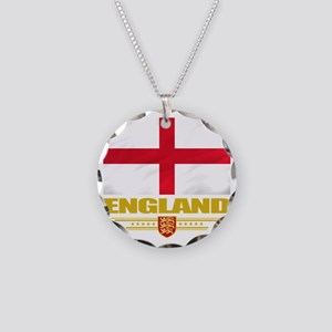 England (Flag 10) Necklace Circle Charm