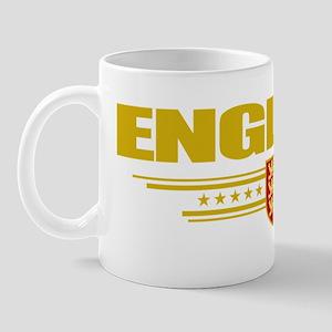 England (Flag 10) pocket Mug