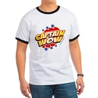 Captain Wow Ringer T