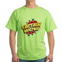 Captain Wow Green T-Shirt