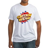 Captain Wow Fitted T-Shirt