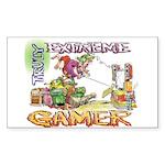 Extreme Gamer Rectangle Sticker