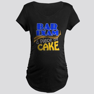 barexam-pieceofcake Maternity Dark T-Shirt