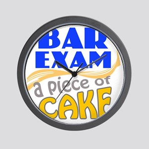 barexam-pieceofcake Wall Clock