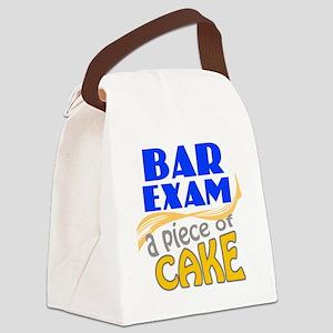 barexam-pieceofcake Canvas Lunch Bag