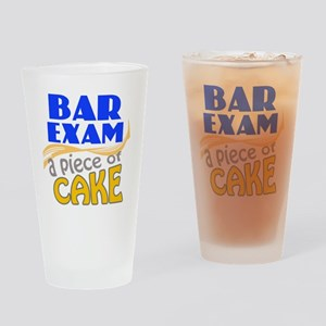 barexam-pieceofcake Drinking Glass