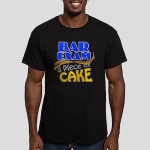 barexam-pieceofcake Men's Fitted T-Shirt (dark)