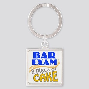 barexam-pieceofcake Square Keychain