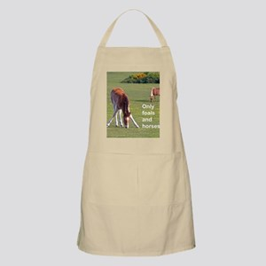 Only foals and horses Apron