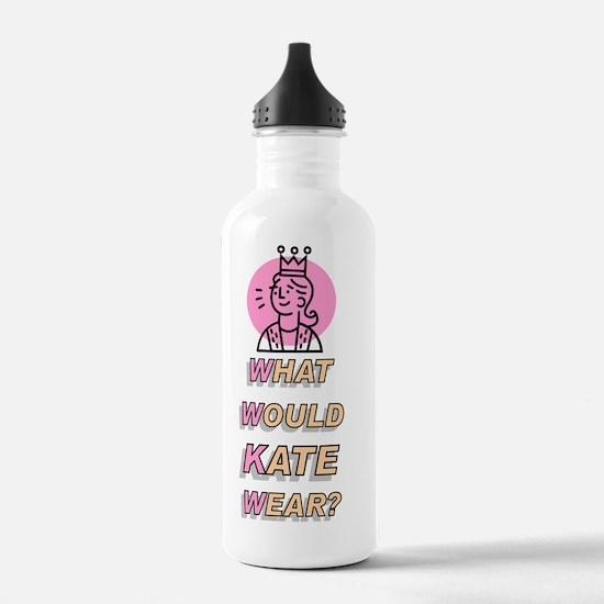 What Would Kate Wear? Water Bottle