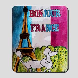 bonjour card Mousepad