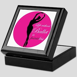 ballet1B Keepsake Box