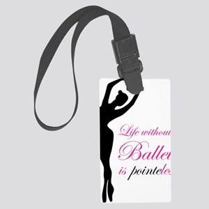 ballet2 Large Luggage Tag