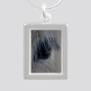 soul window Silver Portrait Necklace