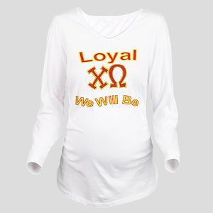 Loyal2 Long Sleeve Maternity T-Shirt