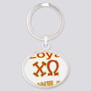 Loyal2 Oval Keychain