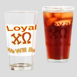 Loyal2 Drinking Glass