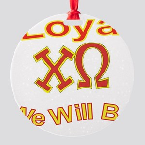 Loyal2 Round Ornament