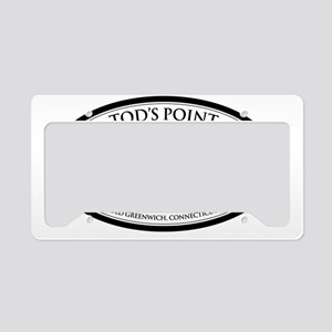 tods sticker2 License Plate Holder